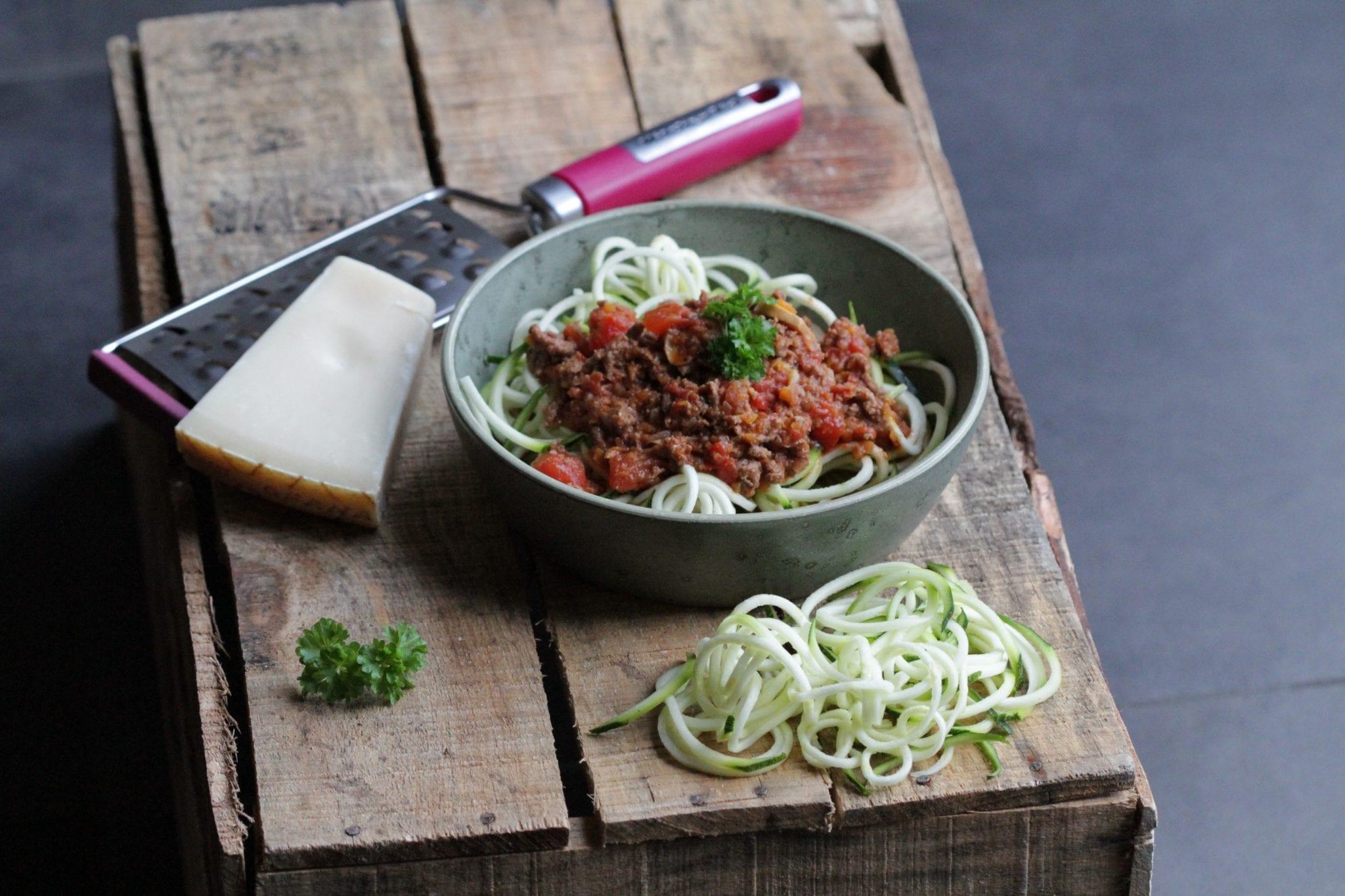 kødsauce Kødsauce med squash pasta