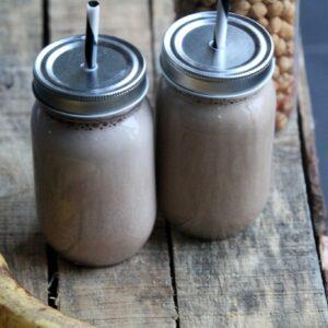 protein smoothie kaffe