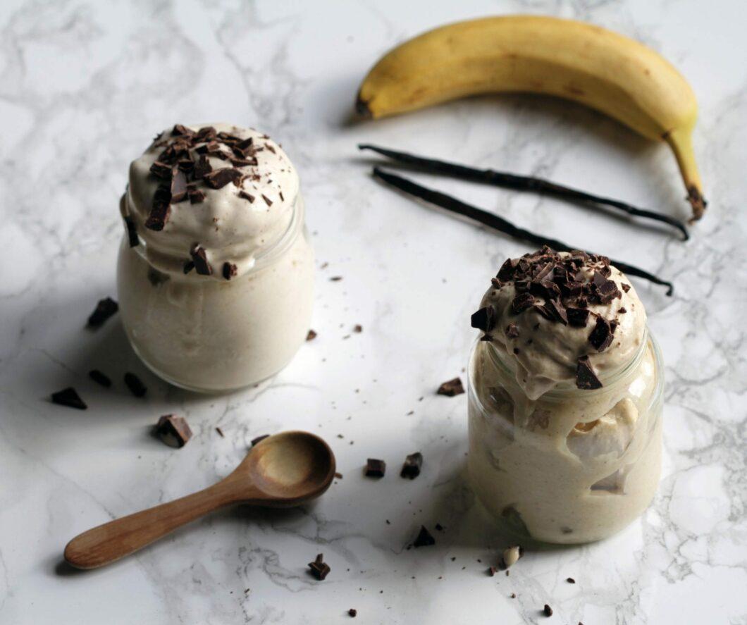 banan is - nice cream