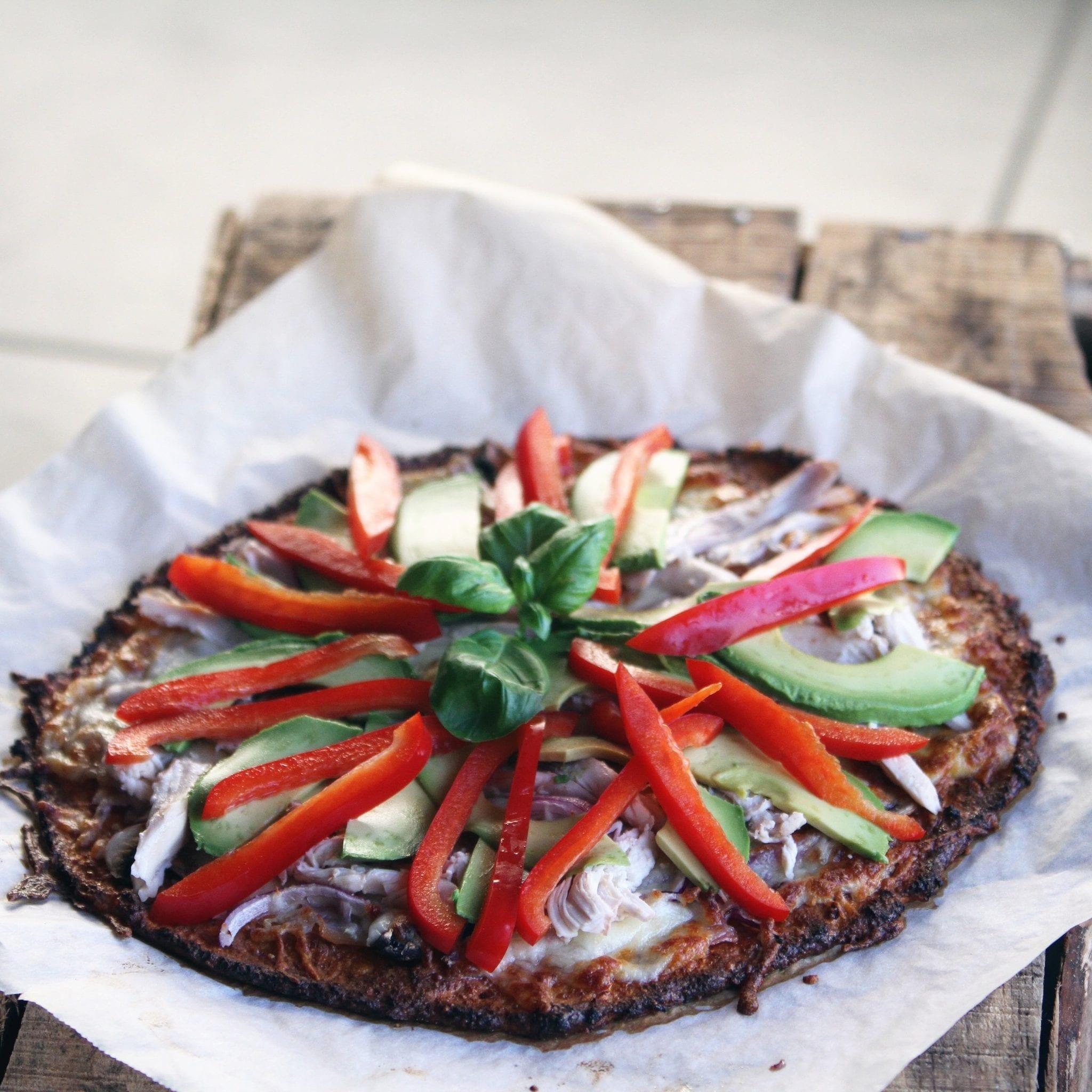 Sød kartoffel pizza – sprød og sund pizzabund