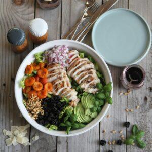 sensommer salat