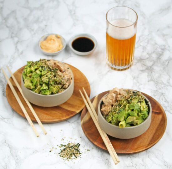 poke bowl tun