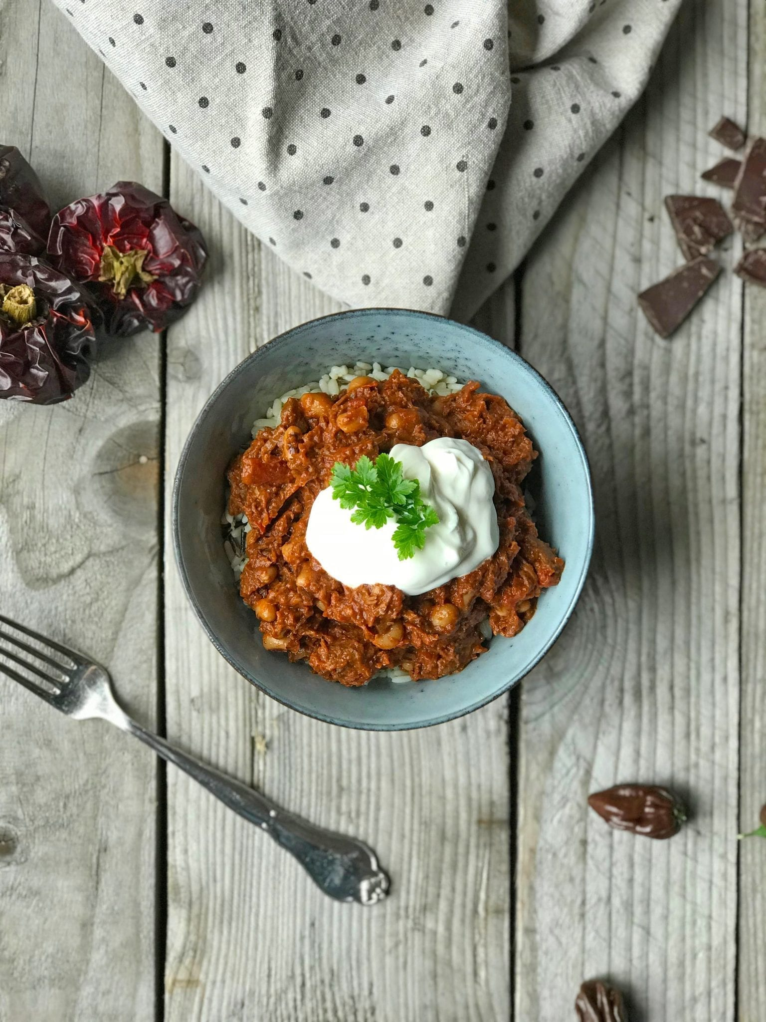 chiliconcarne Chili con Carne - Den rigtige udgave