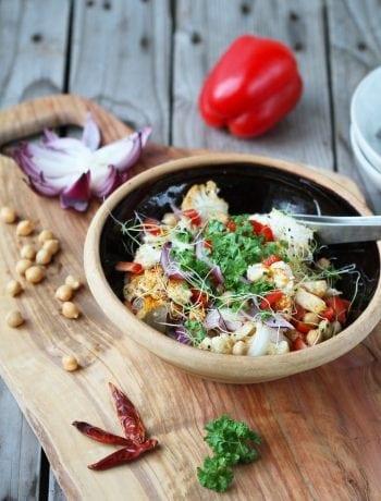 blomkåls salat