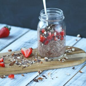 overnight oats kakao og peanut butter