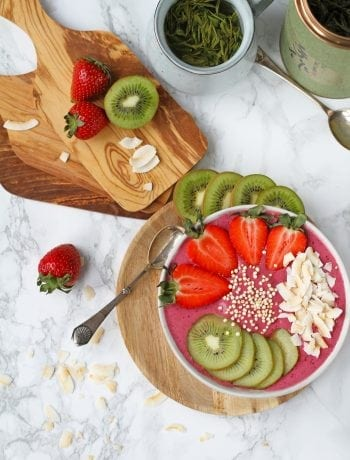 Bær smoothie bowl