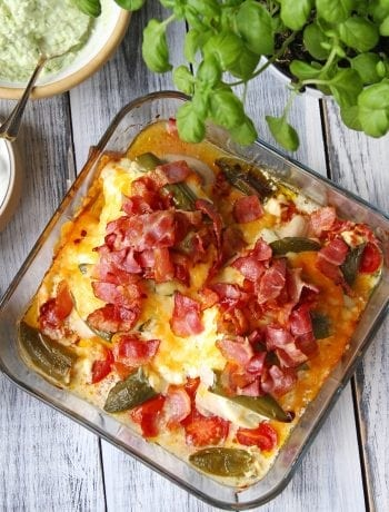 chili cheese top kylling low carb aftensmad