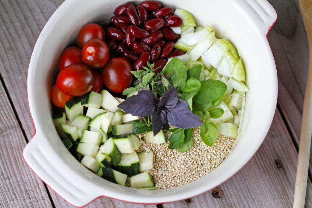 one pot quinoa
