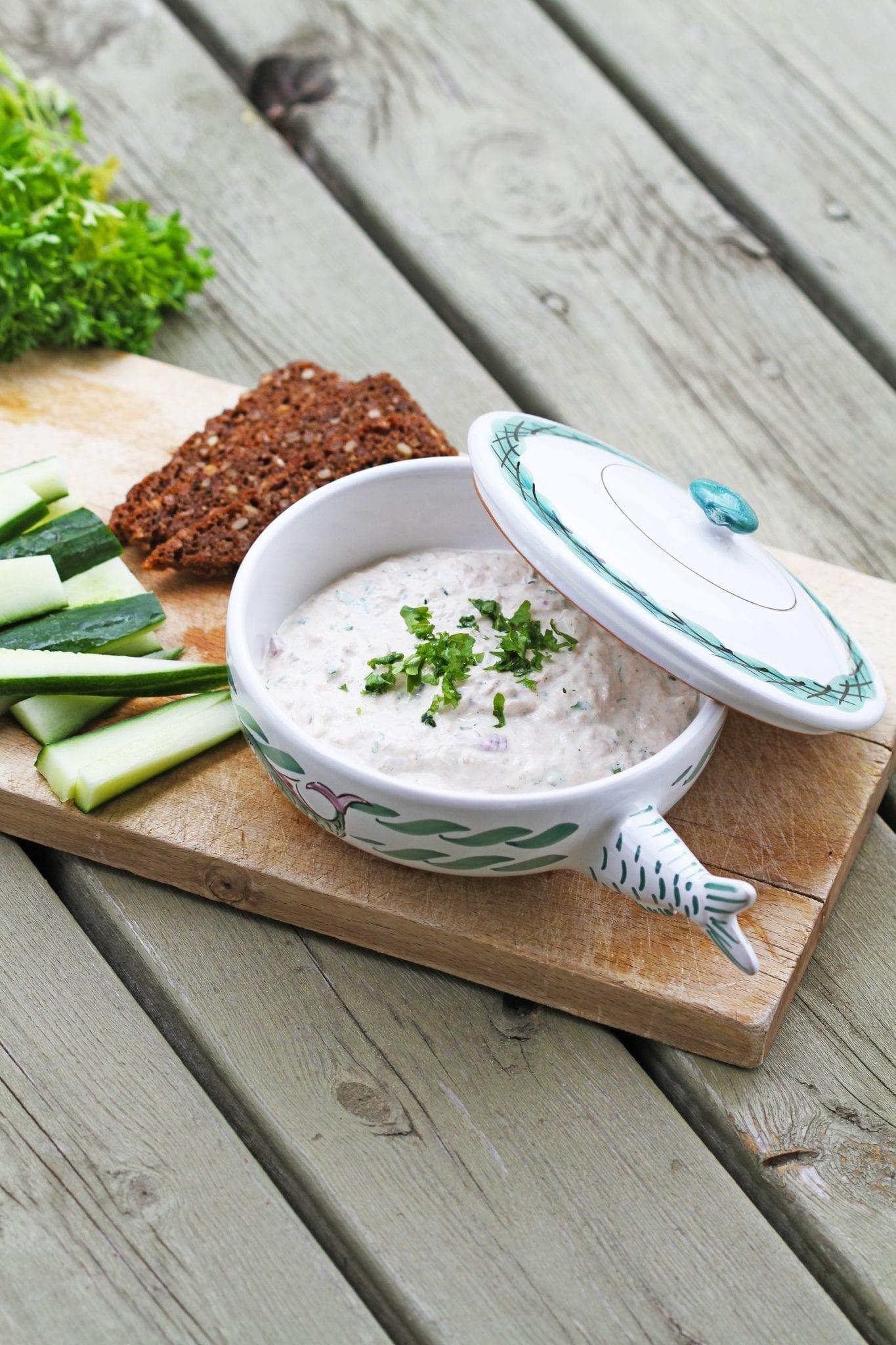 tunmousse Hjemmelavet tunsalat perfekt til frokostbordet