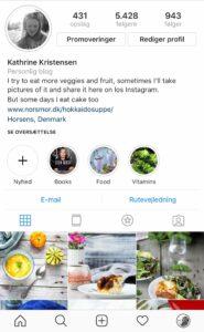 Instagram Samarbejde med norsmor