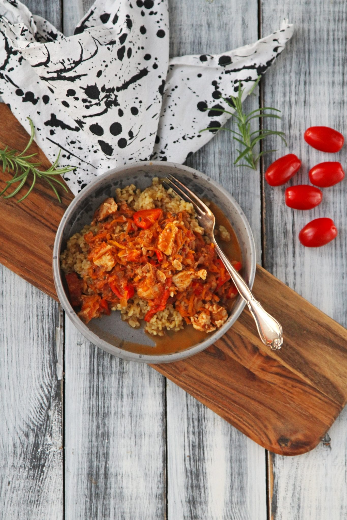 Kyllingecacciatore Kyllinge cacciatore - simpel italiensk comfort food