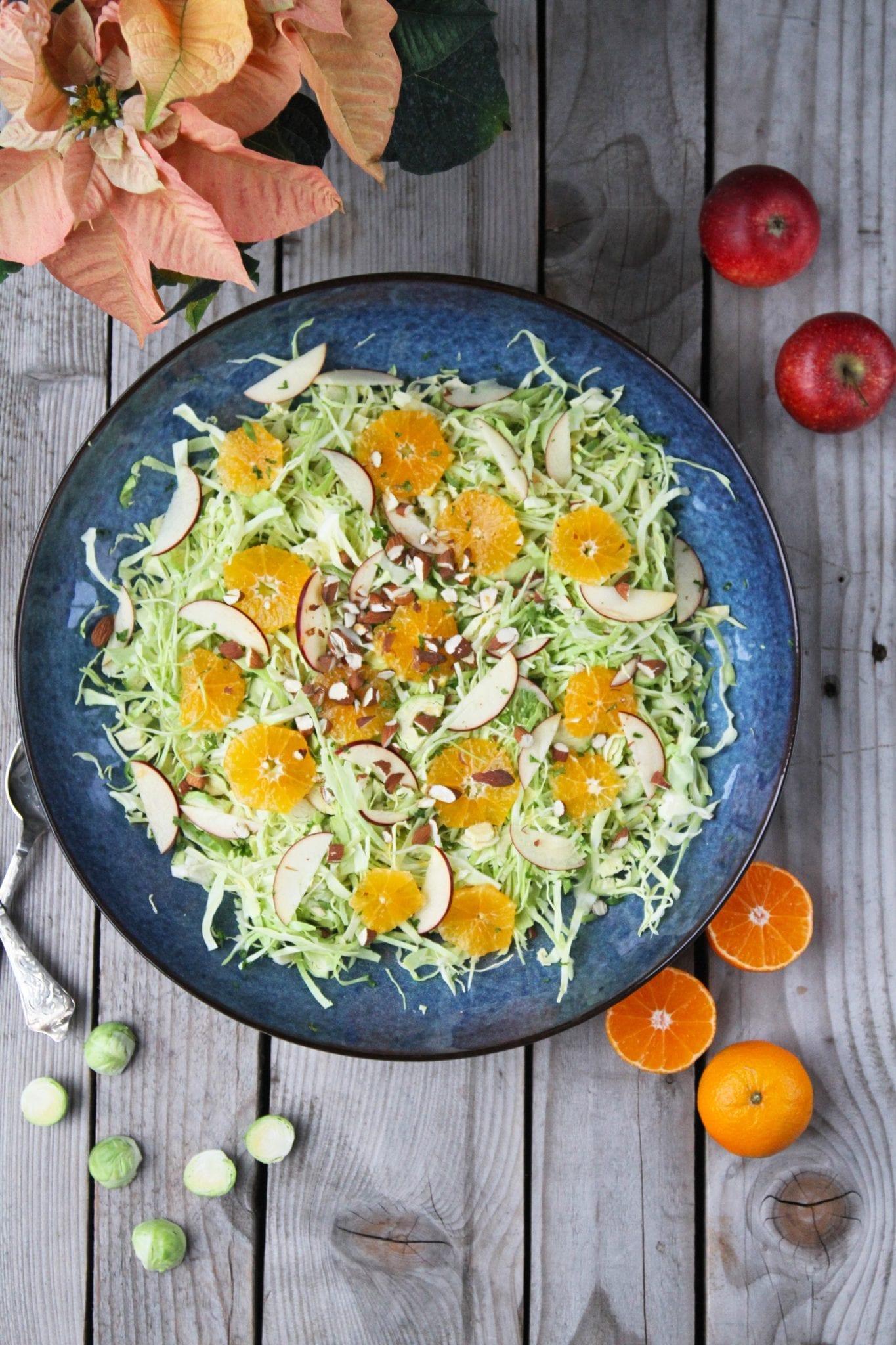 Sprød og lækker kålsalat