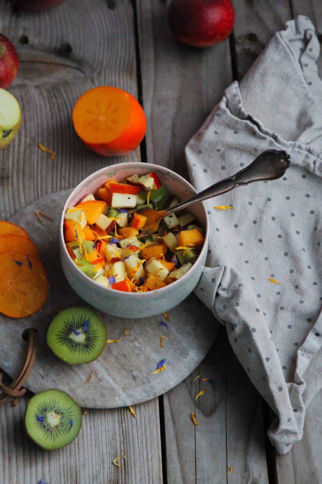 Vinter frugtsalat