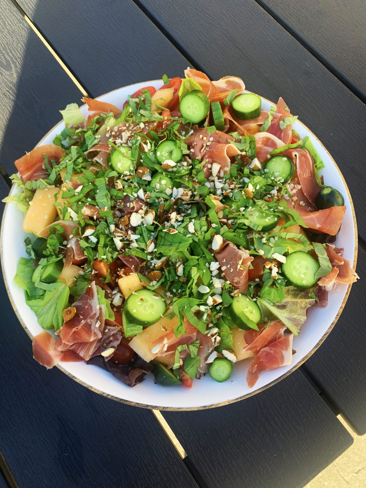 Den perfekte sommer salat.