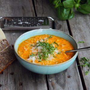 sød kartoffel suppe
