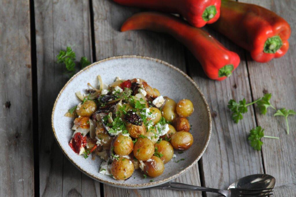 græsk kartoffelsalat