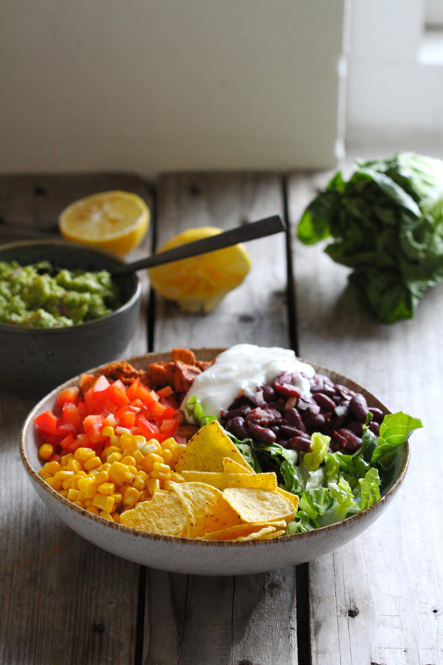 mexicansksalat scaled Mexikansk salat